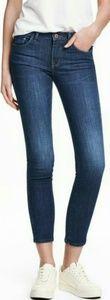 H&M slim cropped jeans